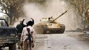 Photo of الجيش الليبي يستهدف شاحنات مُحمّلة بالذخائر والآليات المُسلّحة
