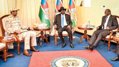 Photo of الإتفاق على تشكيل حكومة جنوب السودان