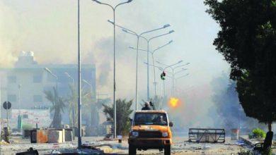 Photo of التقسيم على أبواب ليبيا