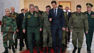 Photo of شويغو يبحث مع الأسد الترتيبات الأمنية والحرب على الإرهاب