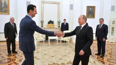 Photo of بوتين يؤكد دعم الدولة السورية على استعادة كامل أراضيها