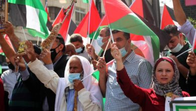 Photo of يوم غضب فلسطيني رفضا للتطبيع