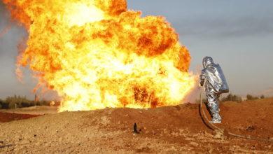 Photo of تفجير إرهابي يستهدف خط نقل الغاز في سيناء المصرية