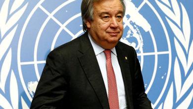 Photo of غوتيريش ينوه بدخول معاهدة حظر الأسلحة النووية حيز النفاذ