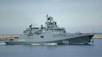 """Photo of الفرقاطة الروسية """"أدميرال غريغوروفيتش"""" تغادر البحر الأسود في اتجاه البحر المتوسط"""