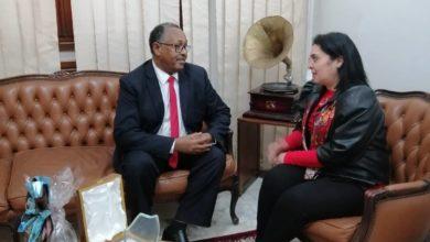 Photo of قعلول تلتقي المستشار السياسي لدى سفارة جمهورية السودان بتونس