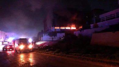 Photo of مقتل آمريْ الأكاديمية والكلية البحرية في انفجار ضخم بضاحية طرابلس