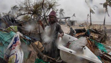 Photo of تدمير أكثر من 8800 منزل و26 مركزا طبيا في إعصار بموزمبيق